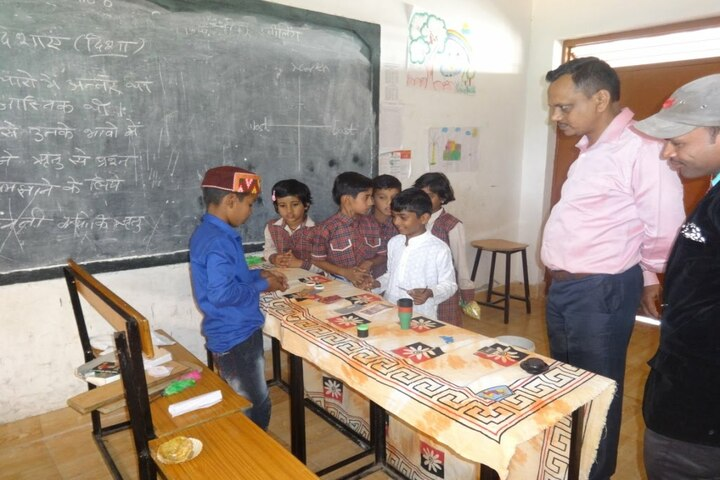 DAV Mukhyamantri Public School-Exhibition