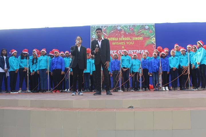 De Nobili School-Group Singing