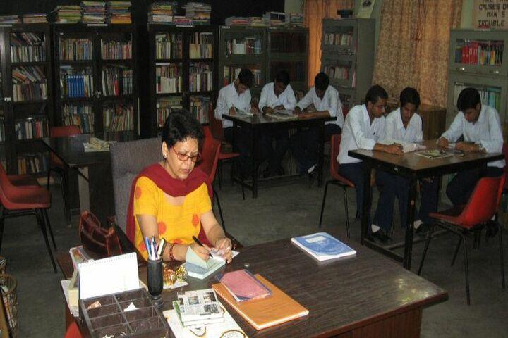 Gulmohur High School-Library