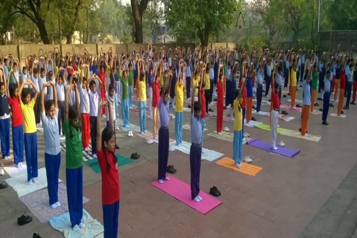 Gulmohur High School-Yoga