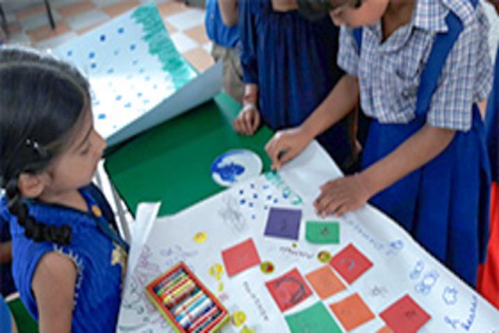 Kerala Samajam Model School-Art And Craft