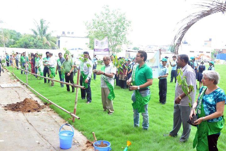 Kerala Samajam Model School-Plantation Activity