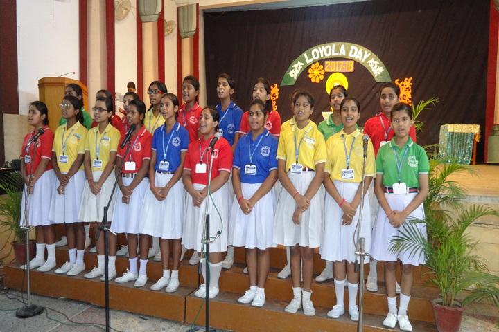 Loyola School-Singing