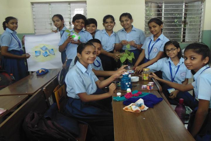 Narbheram Hansraj English School-Art And Craft