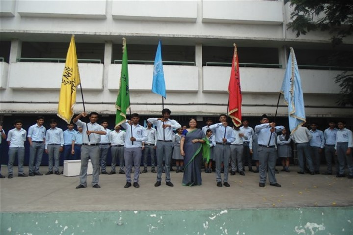 Narbheram Hansraj English School-Investiture Ceremony