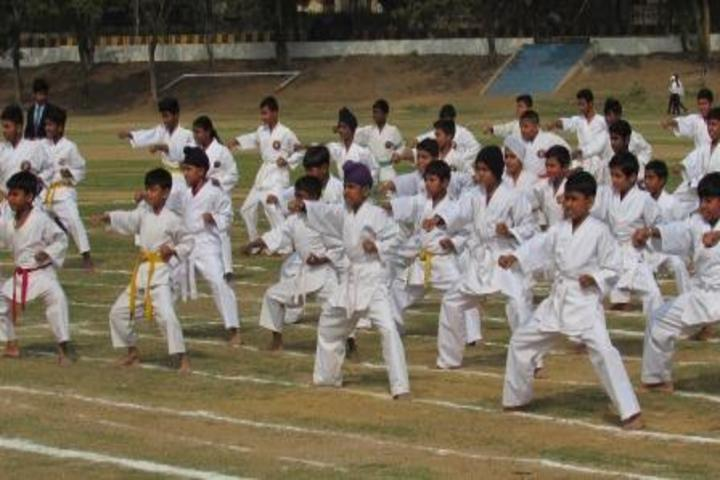 Narbheram Hansraj English School-Martial Arts
