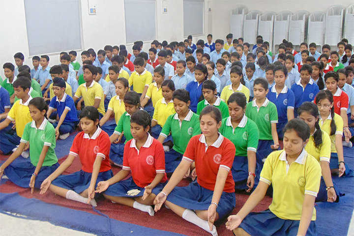 Narbheram Hansraj English School-Yoga Day