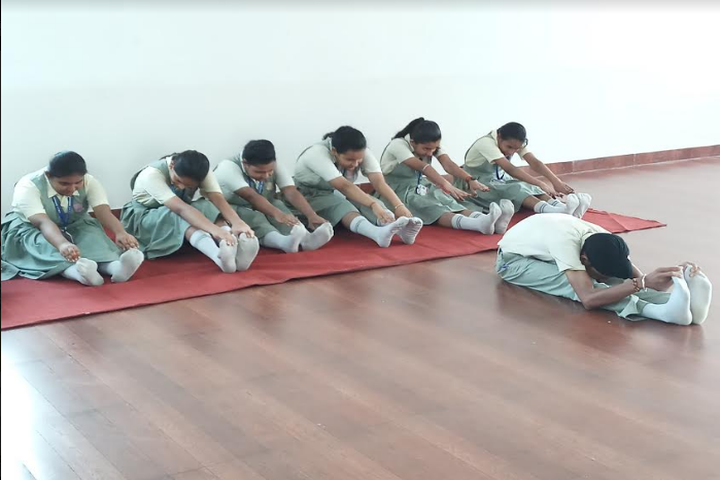 ADLS Sunshine School-Yoga Activity