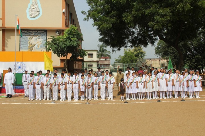 St Francis School-Independance Day Programme