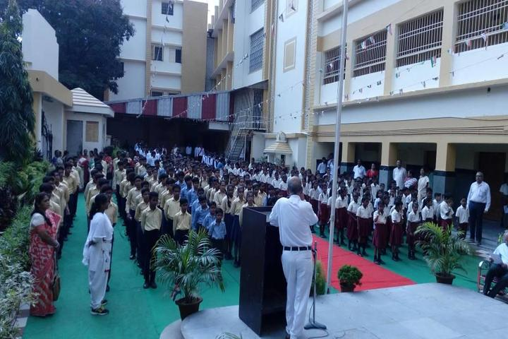 Andhra Association English School-Assembly Area