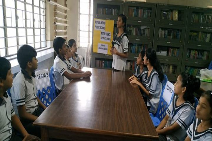 Motilal Nehru Public School-Debate