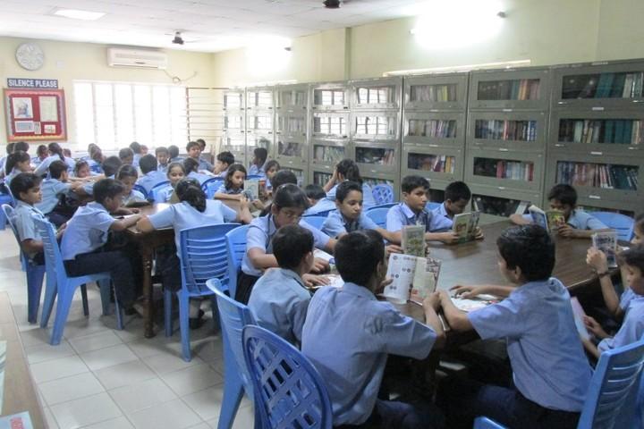 Motilal Nehru Public School-Library