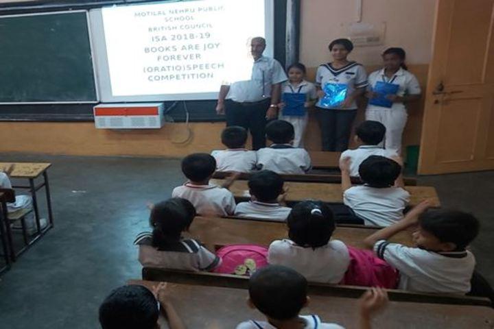 Motilal Nehru Public School-Smart Classroom