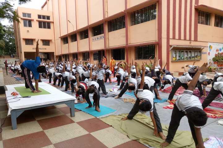 Motilal Nehru Public School-Yoga