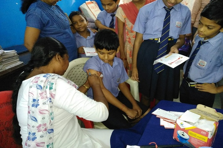 Dayanand Anglo Vedic Public School-Health Camp