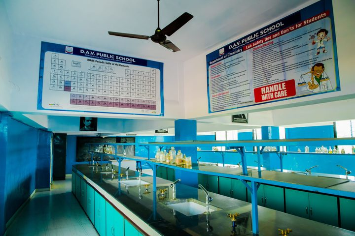 Dayanand Anglo Vedic Public School-Chemistry Lab