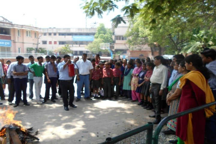 Dayanand Public School-Fire Saftey Mock Drill