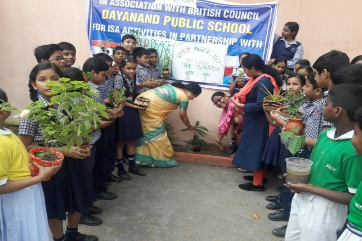 Dayanand Public School-Tree Plantation
