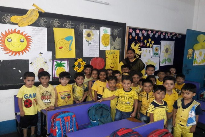 Dayanand Public School-Yellow Day