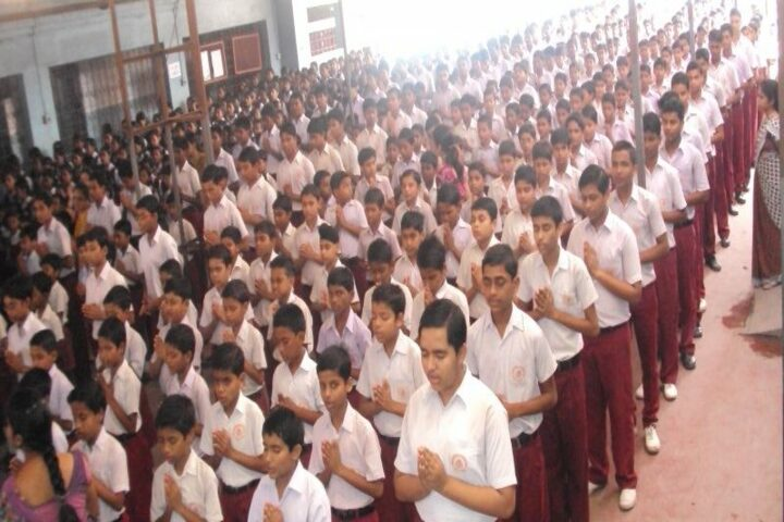 Ramakrishna Mission English School-Assembly