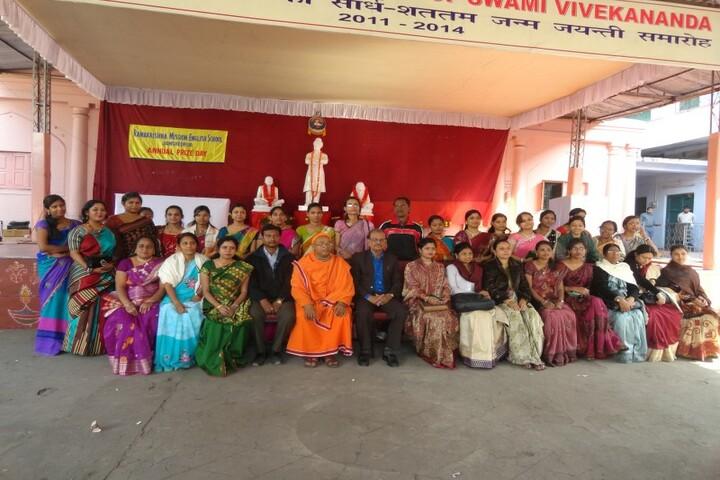 Ramakrishna Mission English School-Group Photo