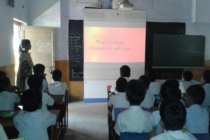 Ramakrishna Mission English School-Smart Classroom