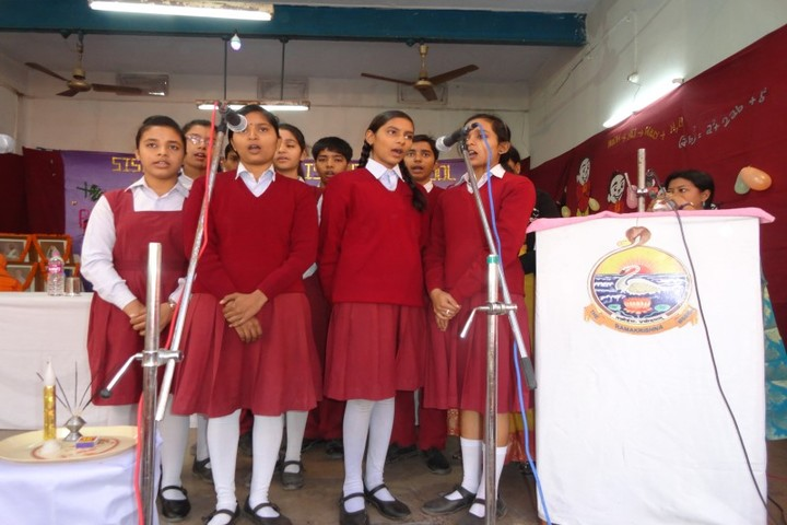 Sister Nivedita English High School-Singing Activity