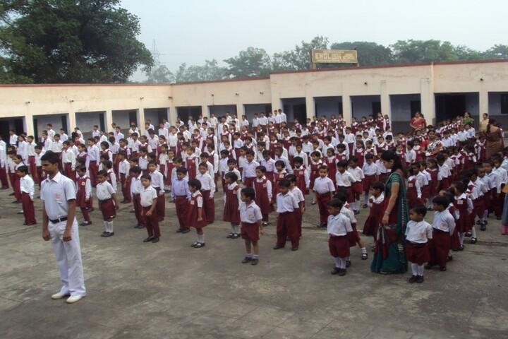 Vivekananda English High School-Assembly