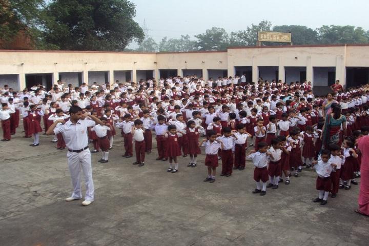 Vivekananda English High School-Morning Assembly