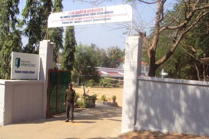 Don Bosco Academy-Entrance