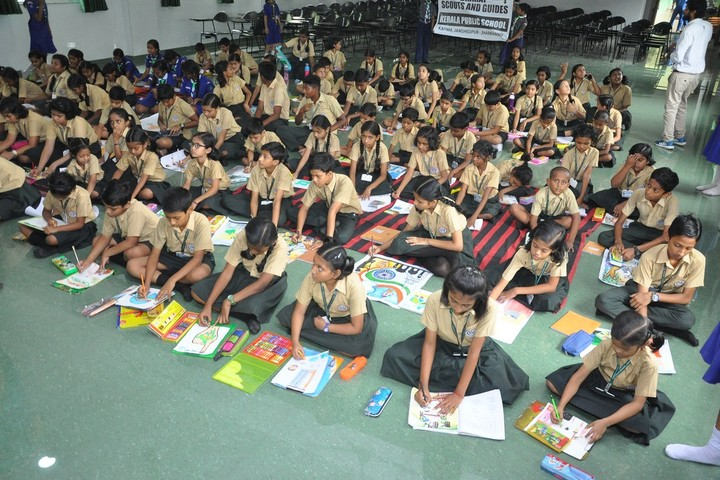 Kerala Public School-Drawing Competition