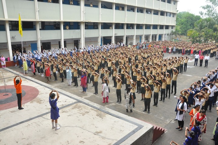 Kerala Public School-Yoga Day
