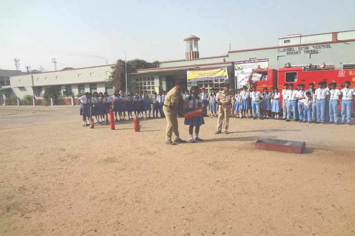 Carmel School-Fire Saftey Week