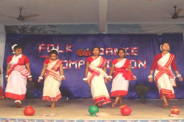 Carmel School-Folk Dance Competition