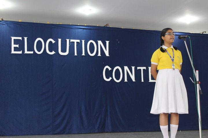Carmel School-Elocution Contest