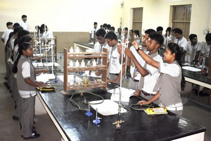 St XavierS English School-Chemistry Lab