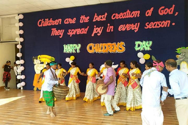 St XavierS English School-Childrens Day
