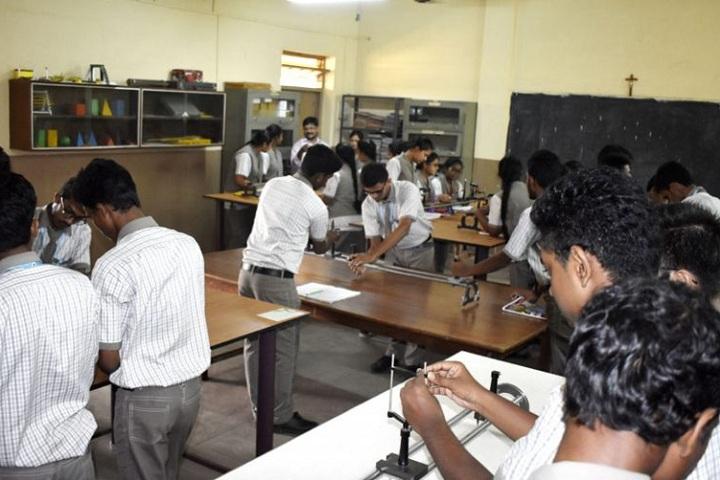 St XavierS English School-Physics Lab