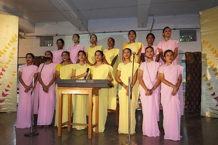 Carmel School-Group Singing