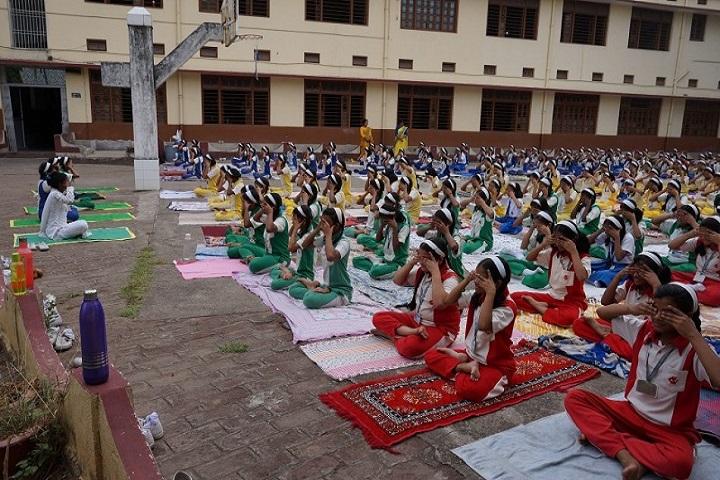 Carmel School-International Yoga Day