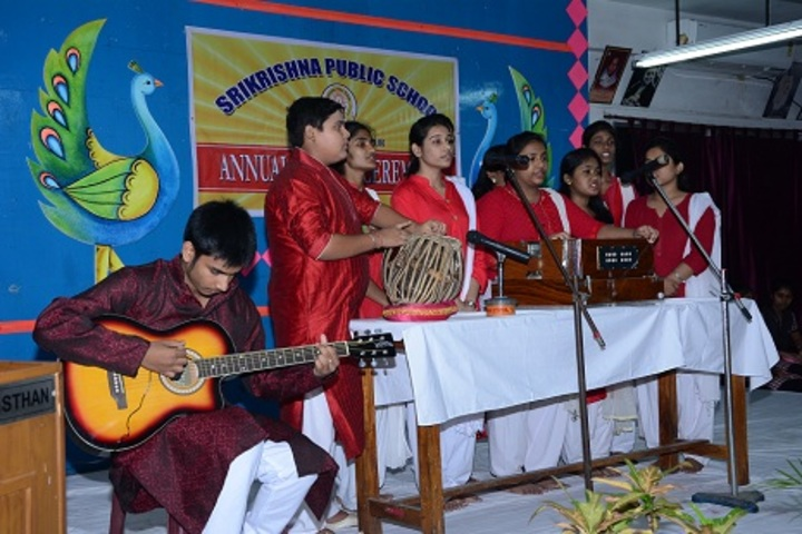 Srikrishna Public School-Music Activity