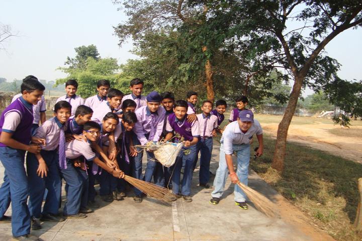 St Anns School-Swatch Bharat Activity