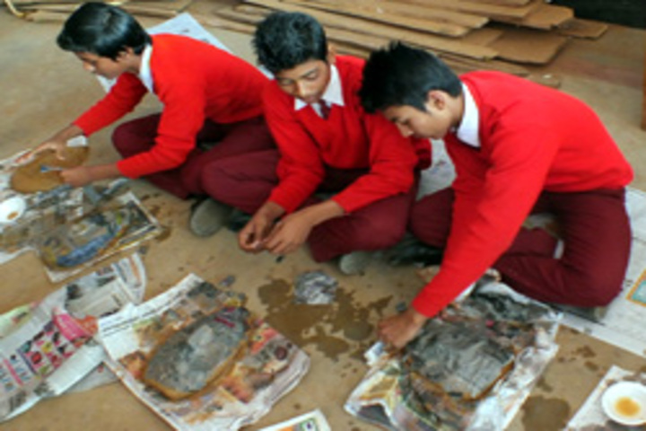 Ramakrishna Vivekananda International English High School-Art And Craft