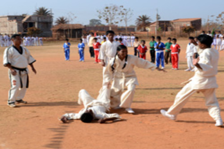 Ramakrishna Vivekananda International English High School-Karate Activity