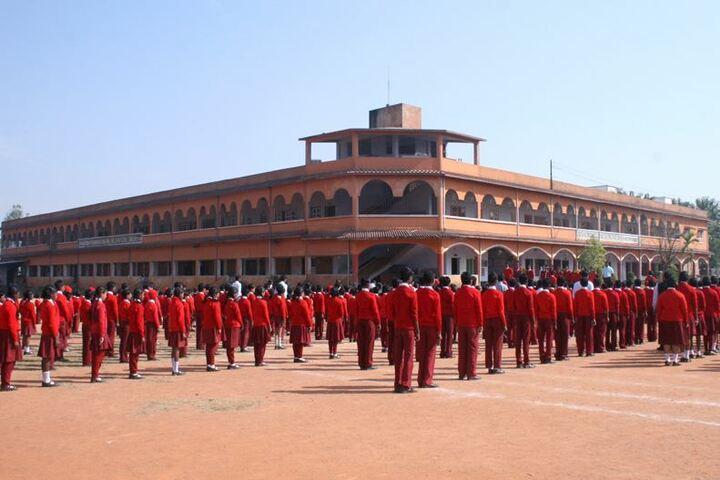 Ramakrishna Vivekananda International English High School-Morning Assembly