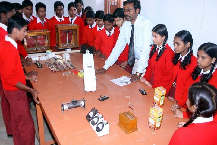 Ramakrishna Vivekananda International English High School-Physics Lab