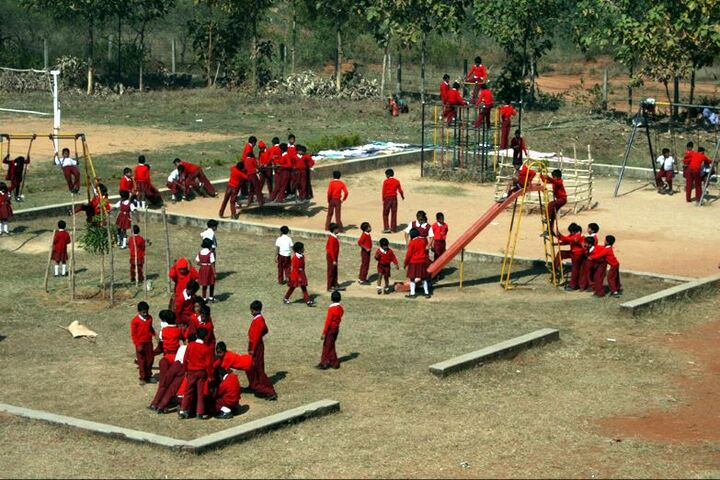 Ramakrishna Vivekananda International English High School-Playing Area
