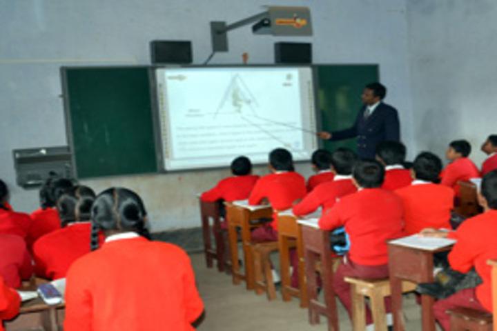Ramakrishna Vivekananda International English High School-Smart Classroom
