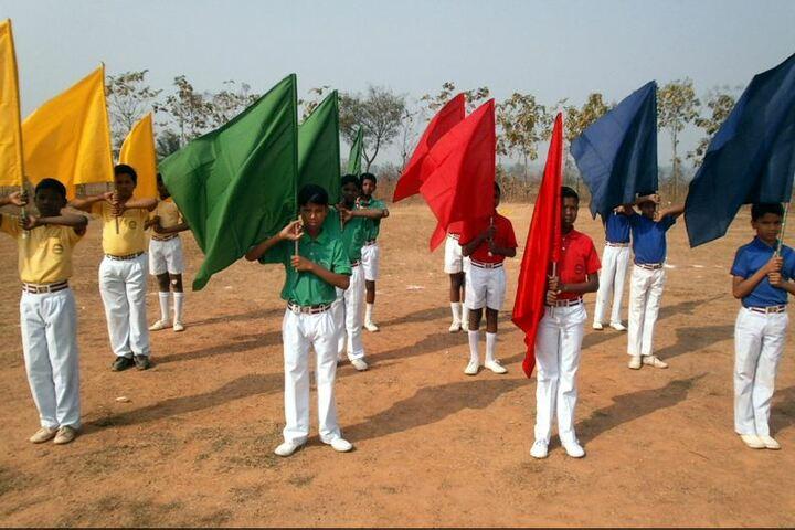 Ramakrishna Vivekananda International English High School-Sports Meet