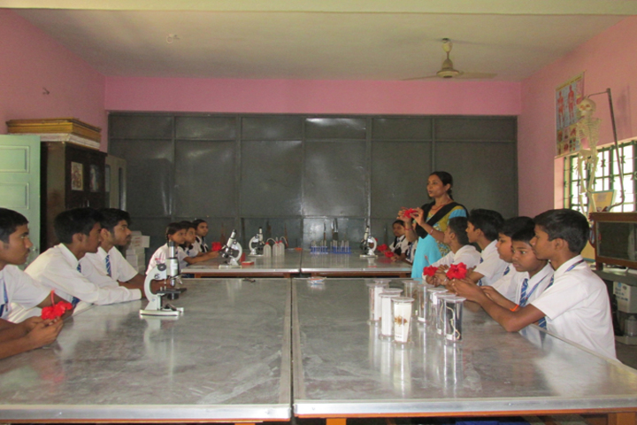 Cluny Convent School-Chemistry Lab